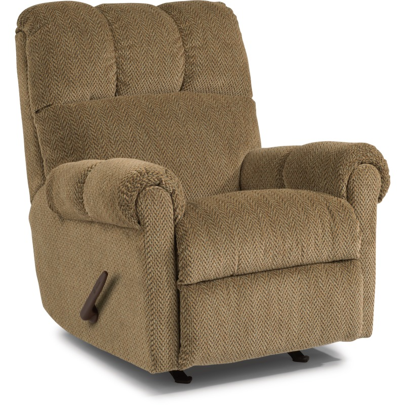 Fabric Swivel Gliding Recliner