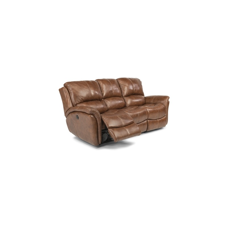 Amazing Dominique Power Reclining Sofa By Flexsteel Furniture Machost Co Dining Chair Design Ideas Machostcouk