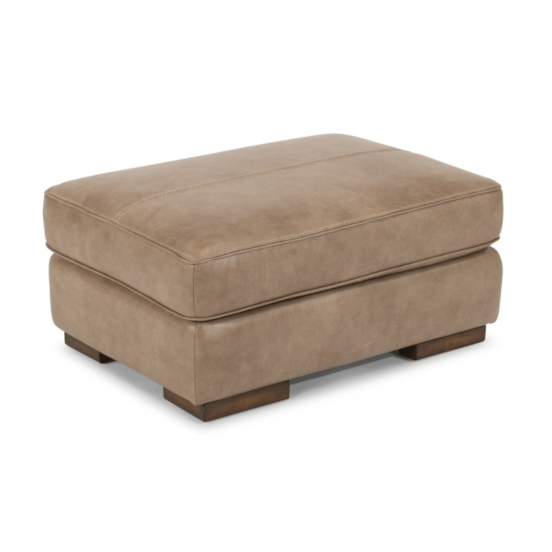 Amazing Jade Leather Ottoman By Flexsteel Furniture 1113 08 Inzonedesignstudio Interior Chair Design Inzonedesignstudiocom