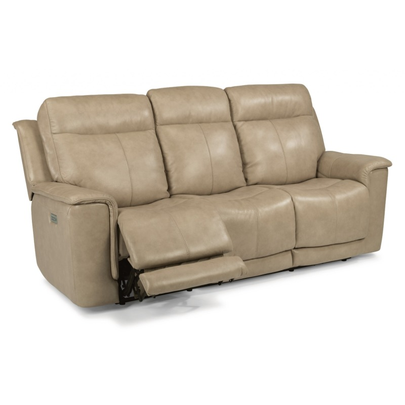 Surprising Miller Power Reclining Sofa W Power Headrests By Flexsteel Caraccident5 Cool Chair Designs And Ideas Caraccident5Info