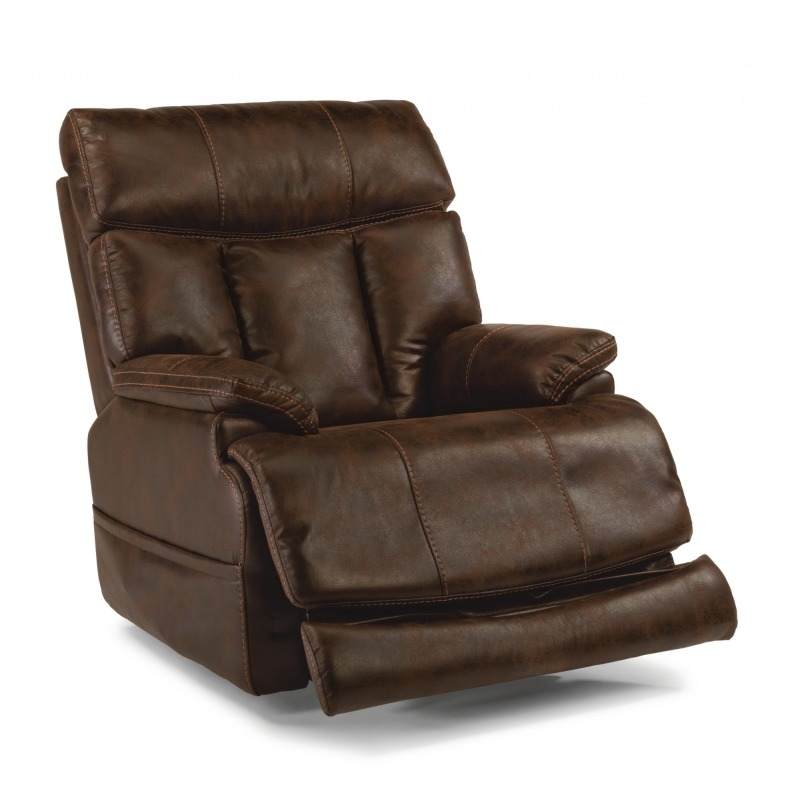 Clive Fabric Power recliner W/ Pwer Headrest