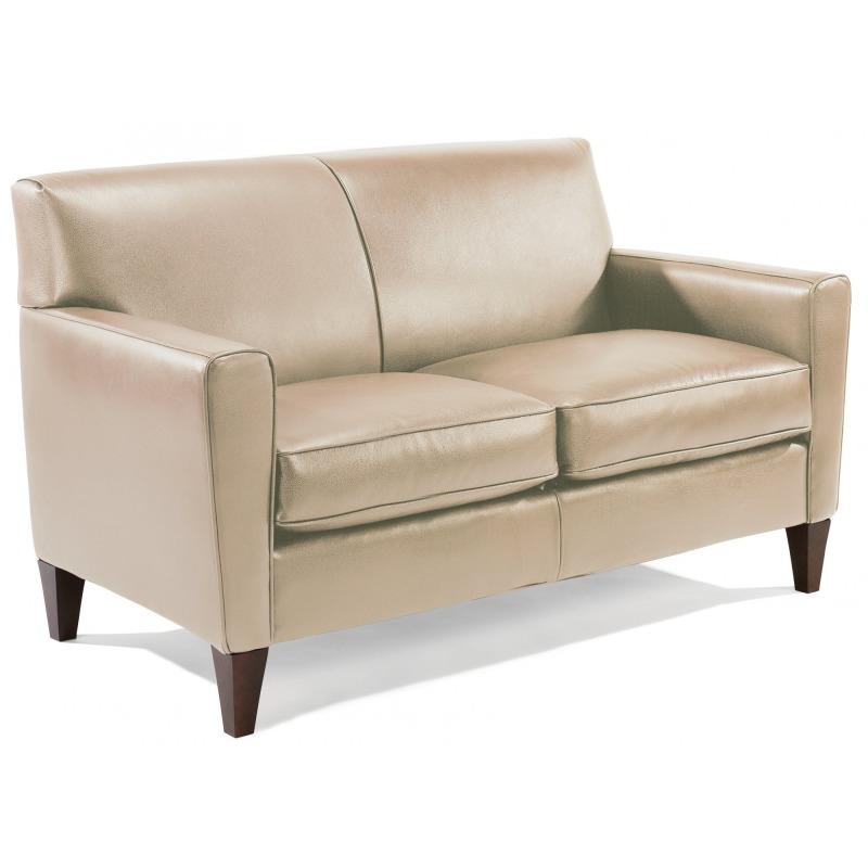 Phenomenal Leather Loveseat By Flexsteel Furniture 3966 20 Missouri Machost Co Dining Chair Design Ideas Machostcouk