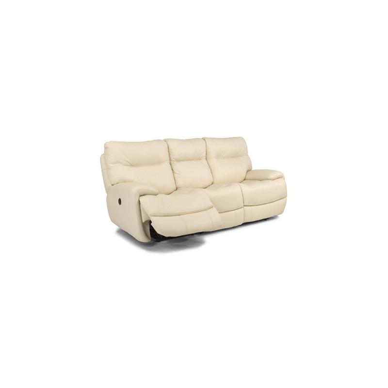 Phenomenal Evian Leather Power Reclining Sofa By Flexsteel Furniture Evergreenethics Interior Chair Design Evergreenethicsorg