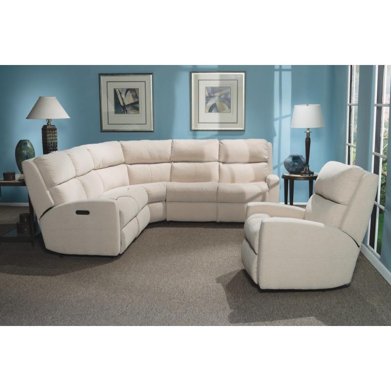 Excellent Catalina Leather Reclining Sectional By Flexsteel Furniture Inzonedesignstudio Interior Chair Design Inzonedesignstudiocom