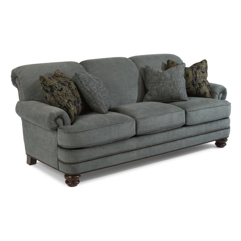 Admirable Bay Bridge Fabric Sofa W Nailhead Trim Forskolin Free Trial Chair Design Images Forskolin Free Trialorg