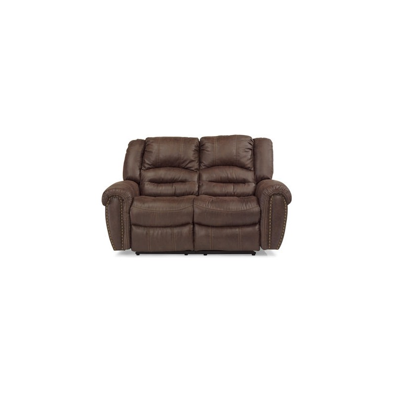 Incredible Downtown Power Reclining Loveseat By Flexsteel Furniture Machost Co Dining Chair Design Ideas Machostcouk