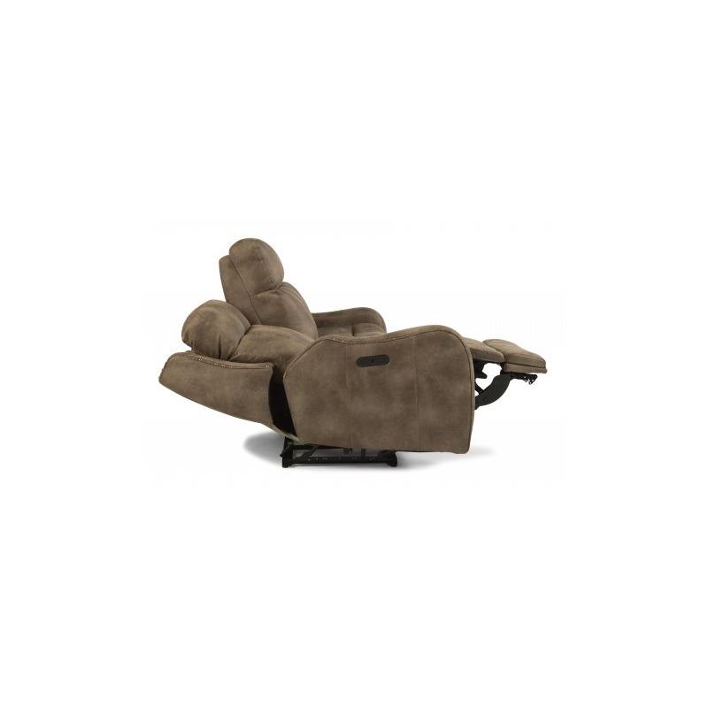 Pleasing Springfield Fabric Power Reclining Sofa W Power Headrests By Machost Co Dining Chair Design Ideas Machostcouk