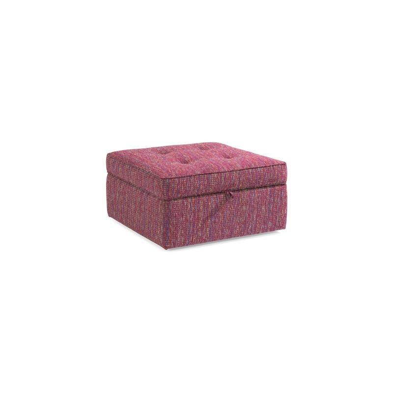 Cool Daphne Fabric Square Storage Ottoman By Flexsteel Furniture Unemploymentrelief Wooden Chair Designs For Living Room Unemploymentrelieforg