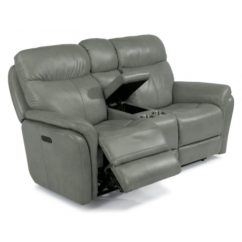 Fine Zoey Power Reclining Loveseat W Console Machost Co Dining Chair Design Ideas Machostcouk