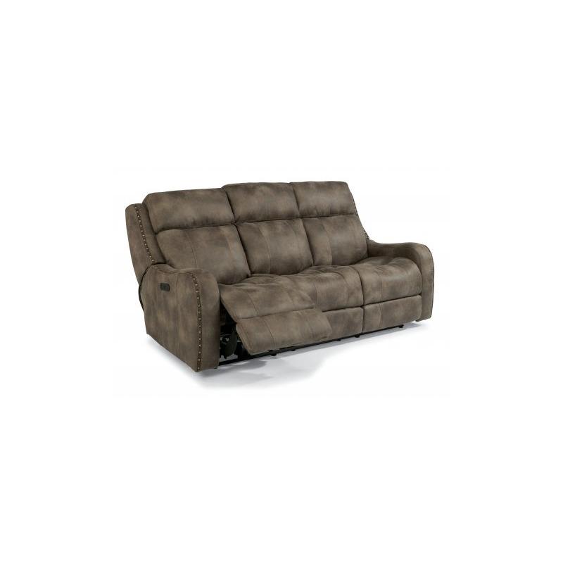 Excellent Springfield Fabric Power Reclining Sofa W Power Headrests By Machost Co Dining Chair Design Ideas Machostcouk