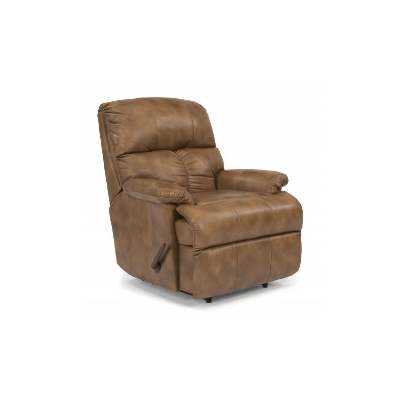 Astounding Triton Leather Recliner By Flexsteel Furniture 399R 501 Gmtry Best Dining Table And Chair Ideas Images Gmtryco