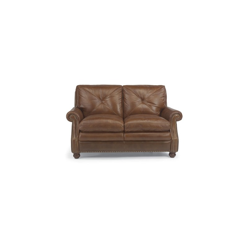 Suffolk Leather Love Seat