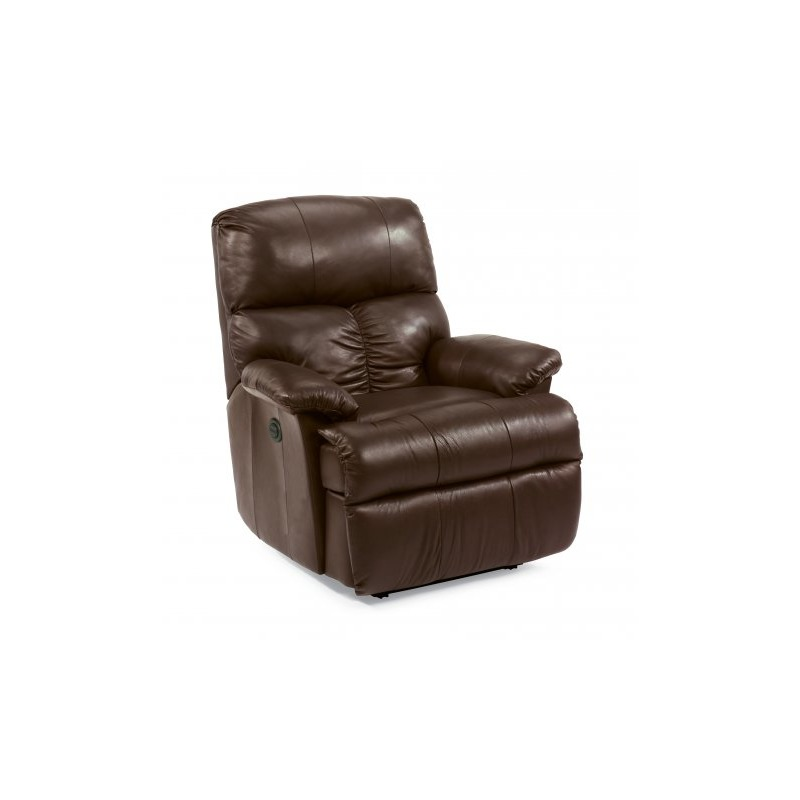 Admirable Triton Leather Recliner By Flexsteel Furniture 399R 501 Gmtry Best Dining Table And Chair Ideas Images Gmtryco