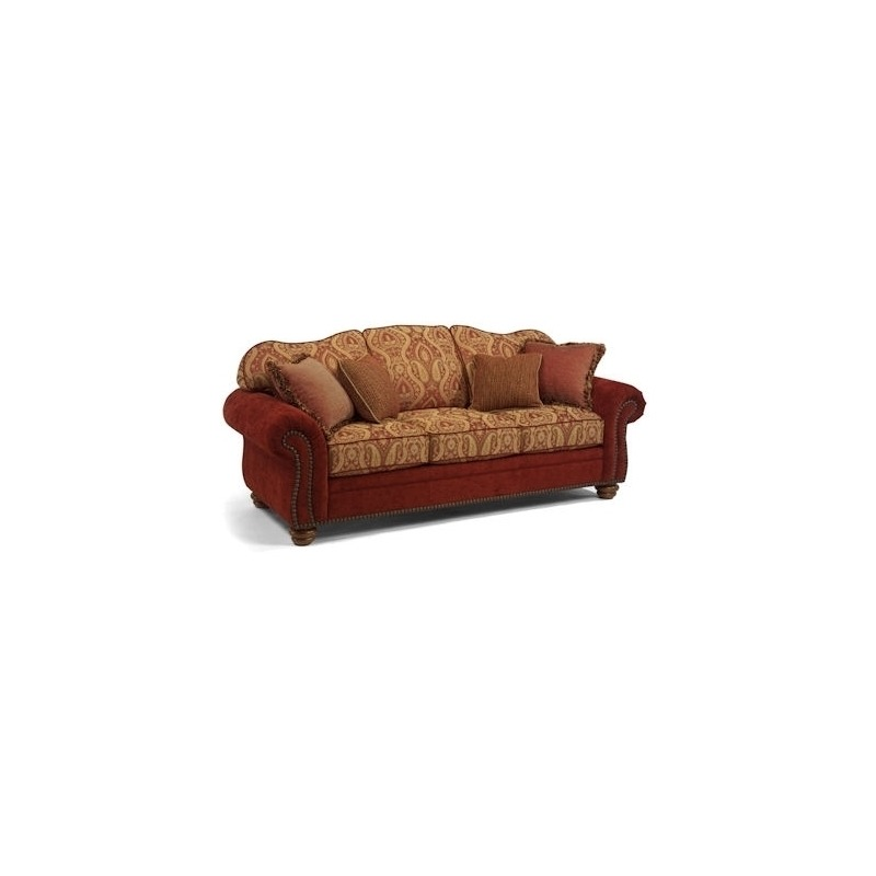 Bexley Fabric Melange Sofa with Nails