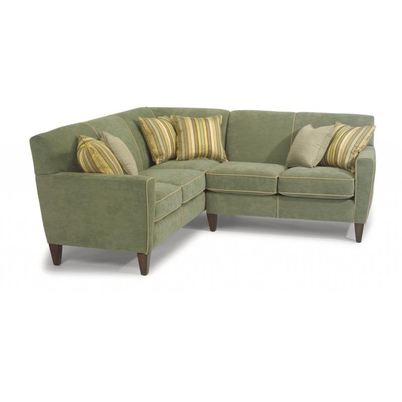 Cool Digby Fabric Sectional By Flexsteel Furniture 5966 Sect Inzonedesignstudio Interior Chair Design Inzonedesignstudiocom