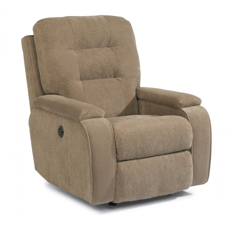 Admirable Kerrie Fabric Power Rocking Recliner By Flexsteel Furniture Machost Co Dining Chair Design Ideas Machostcouk