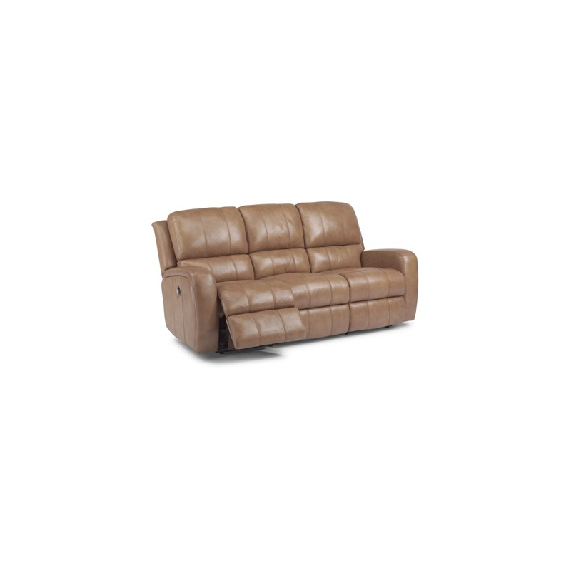 Incredible Hammond Leather Power Reclining Sofa By Flexsteel Furniture Machost Co Dining Chair Design Ideas Machostcouk
