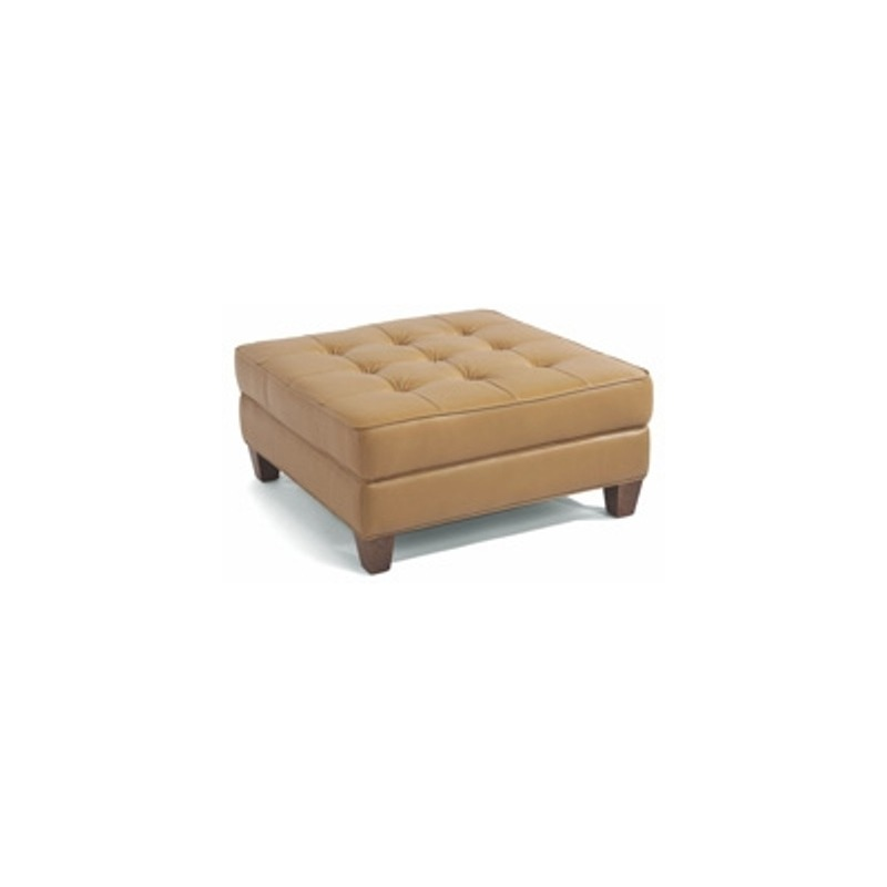 Incredible Nash Leather Square Cocktail Ottoman By Flexsteel Furniture Squirreltailoven Fun Painted Chair Ideas Images Squirreltailovenorg
