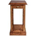 Forest Designs Traditional End Table: 14W X 26H X 24D