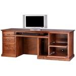 Forest Designs Traditional Alder Computer Desk