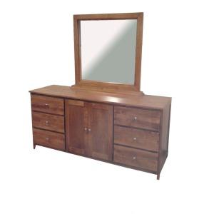 Forest Designs 72w Urban Dresser & Mirror