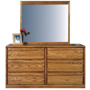 Forest Designs Bullnose Dresser & Mirror