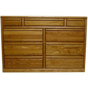 Forest Designs Bullnose Eleven Drawer Dresser: 60W x 48H x 18D