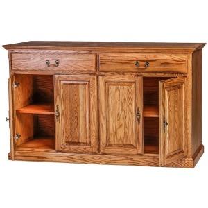 Forest Designs Traditional Oak Buffet: 60W x 36H x 18D