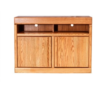 Forest Designs Bullnose Oak TV Cart:42W x 30H