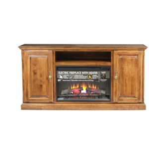 Forest Designs Traditional Alder Fireplace: 60W X 30H X 18D
