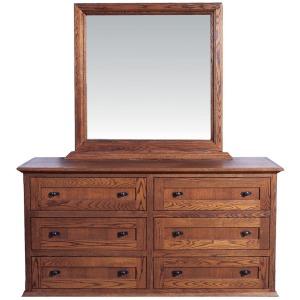 Forest Designs 60w Mission Dresser & Mirror