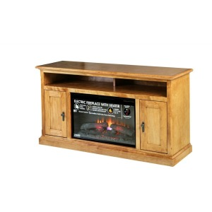 Forest Designs Mission Alder Fireplace: 60W X 30H X 18D