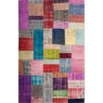 Patchwork Rug 5'x8'-Multicolor