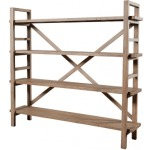 Toscana Large Bookshelf-Sundried Wheat