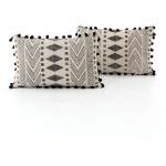 Faded Block Print Pillow