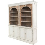 Stanford 3 Part Cabinet-Swedish Lt Grey