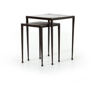 Dalston Nesting End Tables - Antique Rust