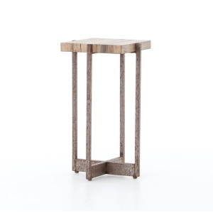 Hudson Accent Table-Spalted Primavera