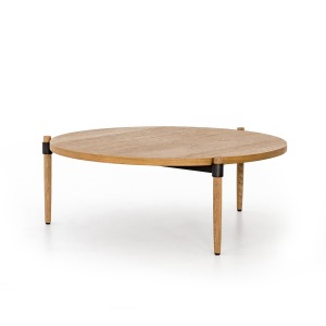 Holmes Coffee Table - Smoked Drift Oak