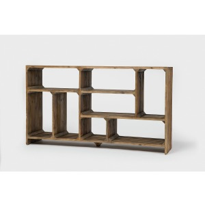 Hughes Console Room Divider-Bleached Pin