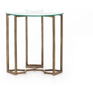 Marlow Naomi Glass End Table