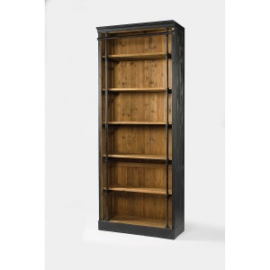 Ivy Bookcase-Matte Black