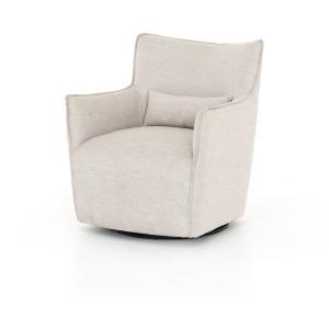 Kimble Swivel Chair - Noble Platinum