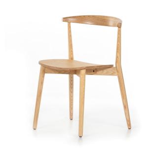 Pruitt Dinning Chair - Blond Ash
