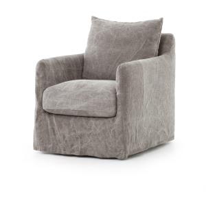 Banks Swivel Chair - Stonewash