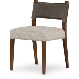 Ferris Dining Chair - Nubuck Charcoal