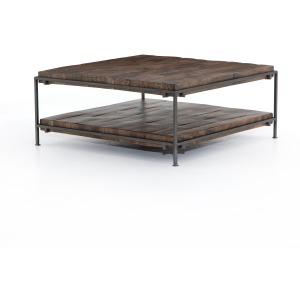 Simen Square Coffee Table - Gunmetal