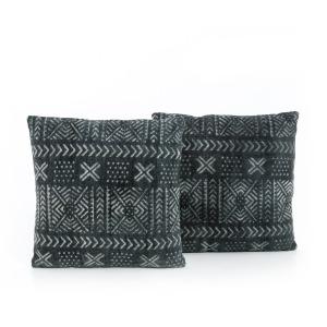Mud Cloth Print Pillow Set
