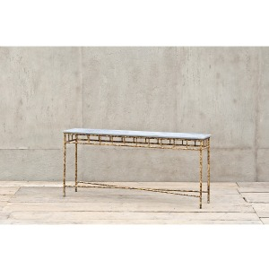 The Cheating Blacksmith Console Table