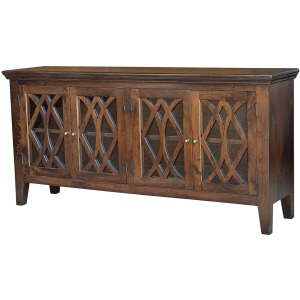 Azalea Sideboard 4 Door-Antique Brown